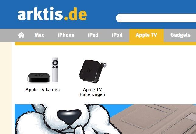 Apple TV Zubehör bei arktis.de