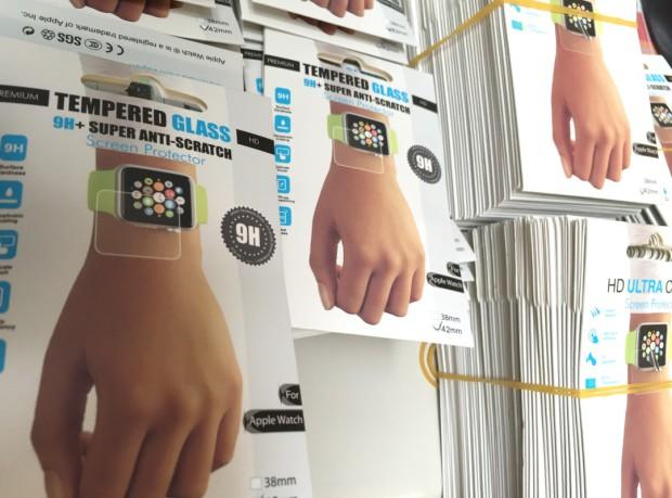 Apple Watch Echtgläser und Displayfolien