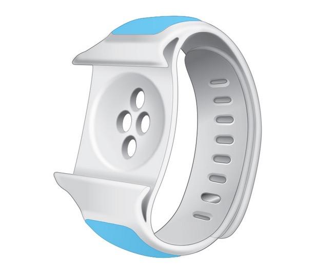 Apple Watch Armband mit integriertem Zusatzakku