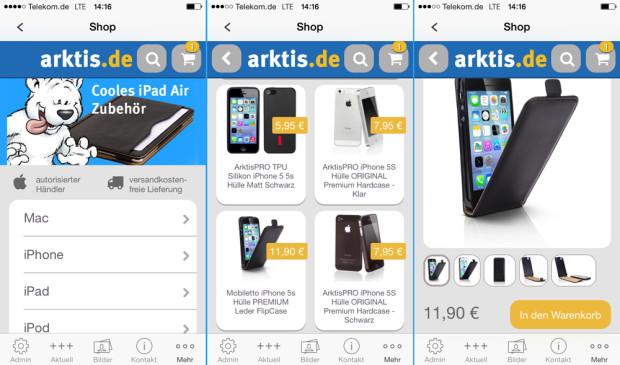 Die neue arktis.de Shopping App ist da!