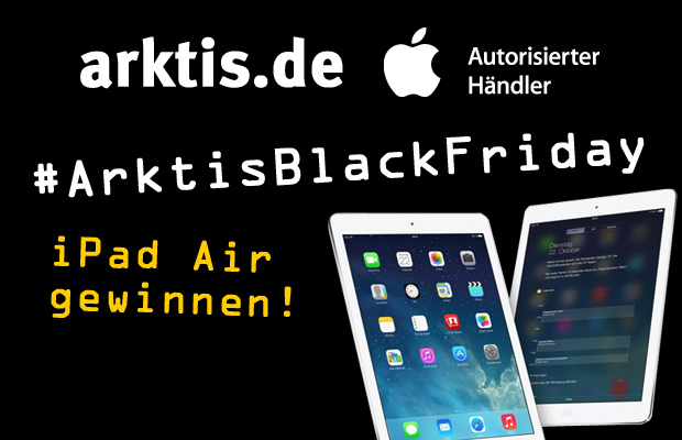 iPad Air Gewinnspiel bei arktis.de