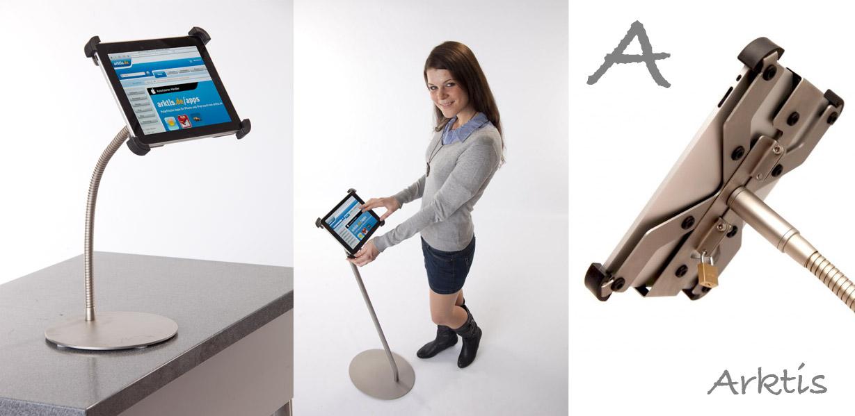Arktis iPad Ständer für den Point of Sale