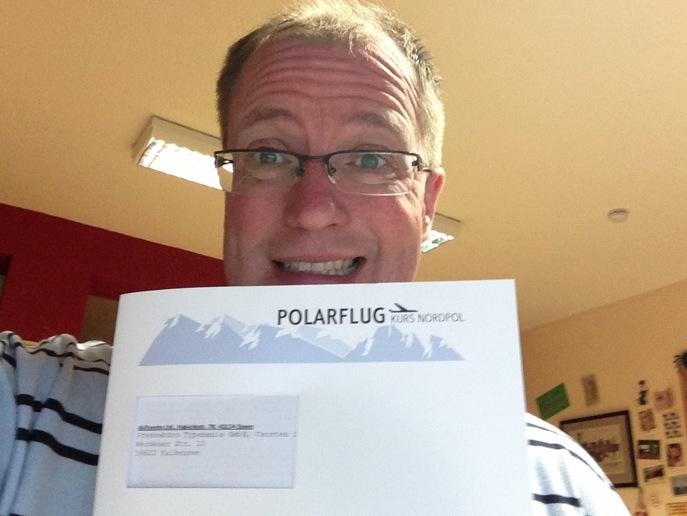 Heute geht´s los zum großen arktis.de Polarflug direkt zum Nordpol