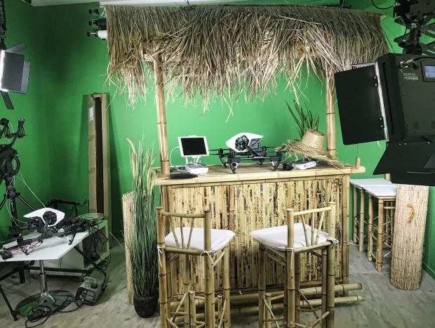 Arktis Beachbar im Studio