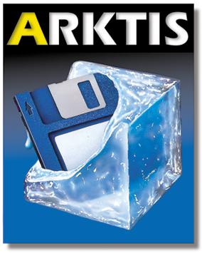 Mit diesem Logo startete Arktis im Mac-Markt durch