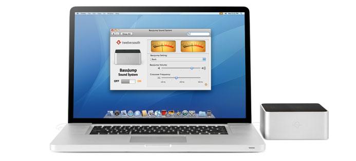 Nie klang Euer MacBook kraftvoller. BassJump von Twelve South.