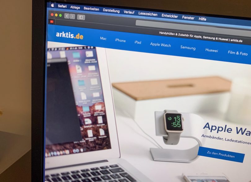 Der neue arktis.de Webshop