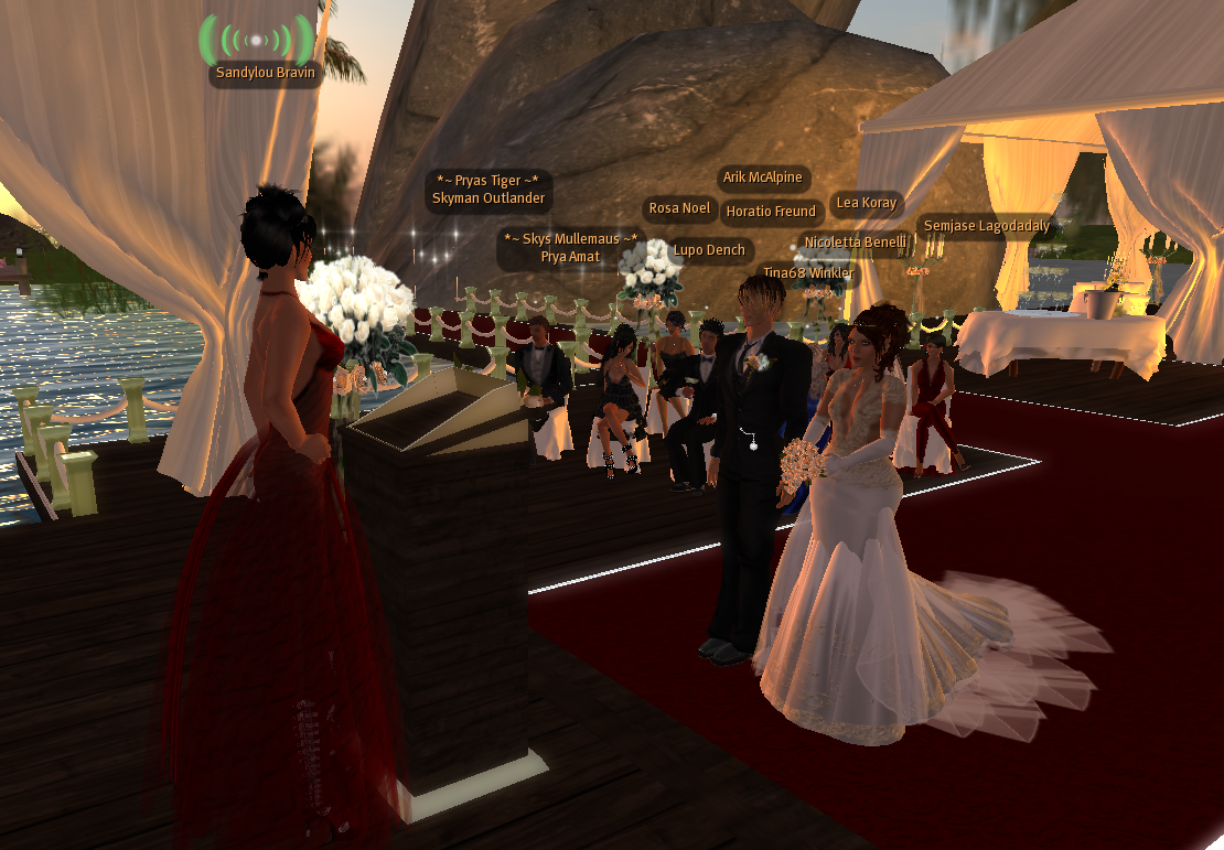 Heiraten in Second Life