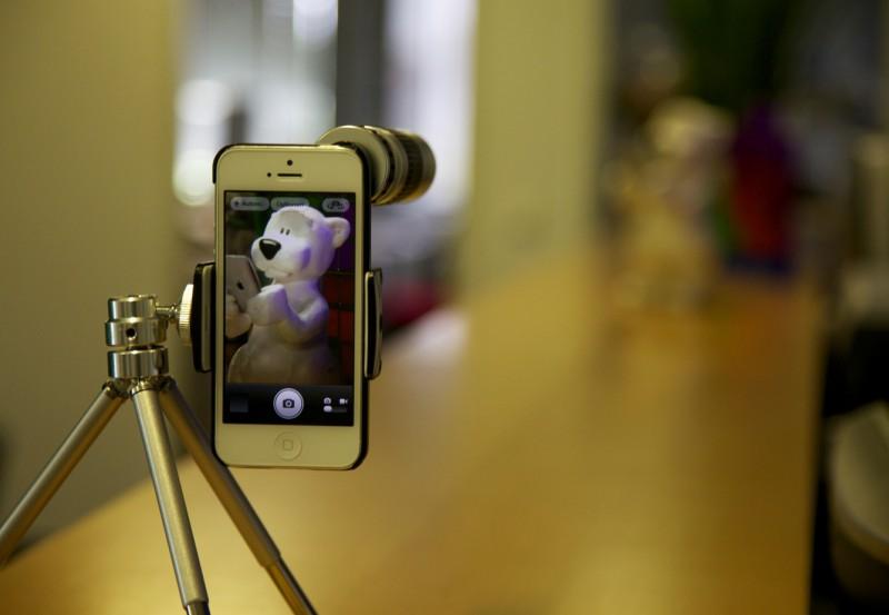 ArktisPRO Zoomobjektiv für das iPhone 5