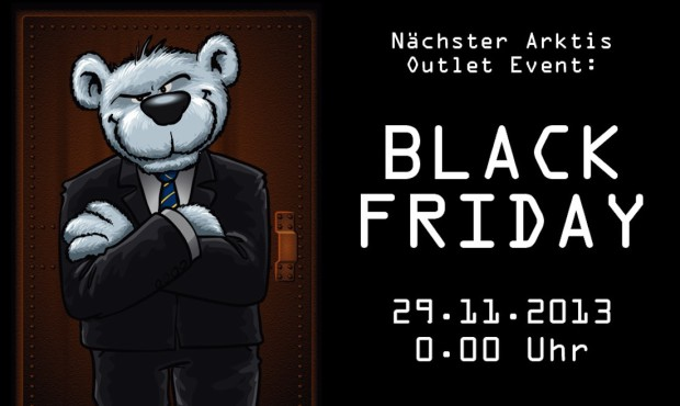 Black Friday am 29.11. bei arktis.de