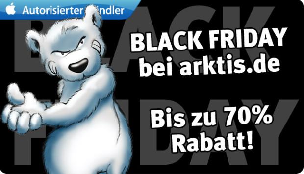 Black Friday Angebote bei arktis.de