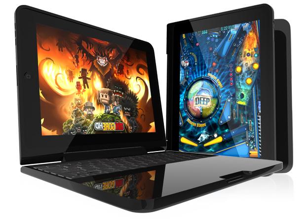 iPad Hülle und iPad Tastatur in einem Produkt!