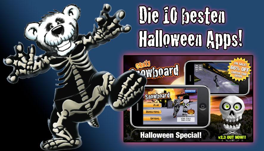 Die 10 besten Halloween iPhone Apps
