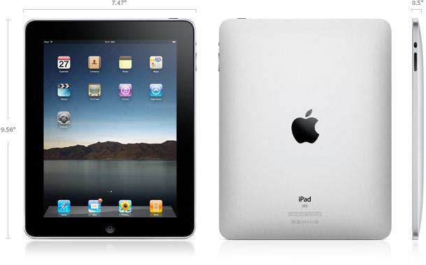 iPad Maße
