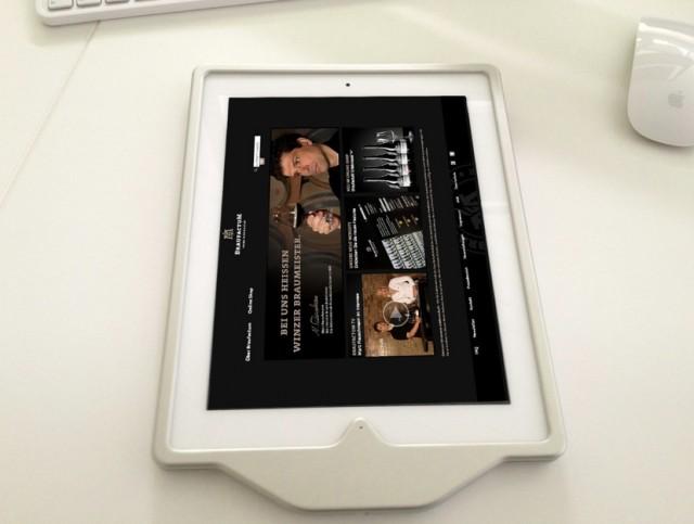 xMount Hands On iPad Diebstahlsicherung - perfekt für Restaurants, Schulen oder Messestände