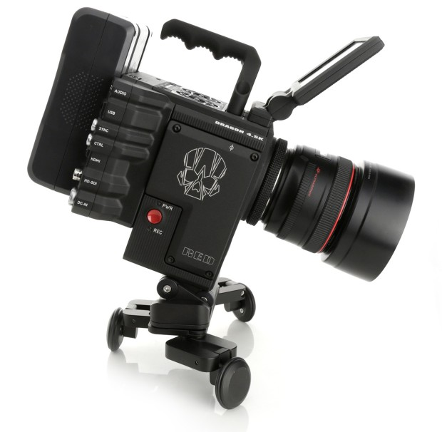 edelkrone PocketSKATER mit RED Kamera