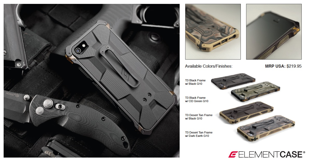 Element Case Setor BLACK OPS ELITE iPhone 5 Hüllen