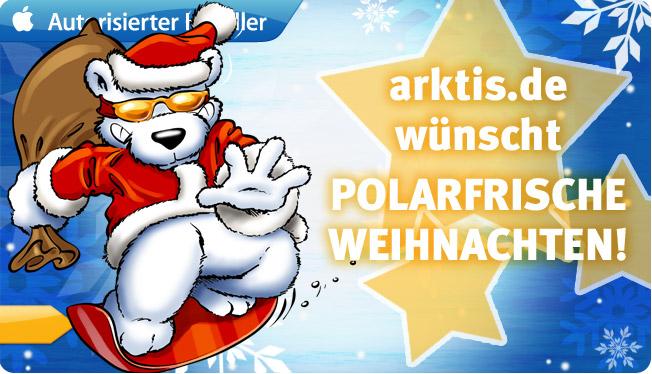 arktis.de wünscht Polarfrische Weihnachten!