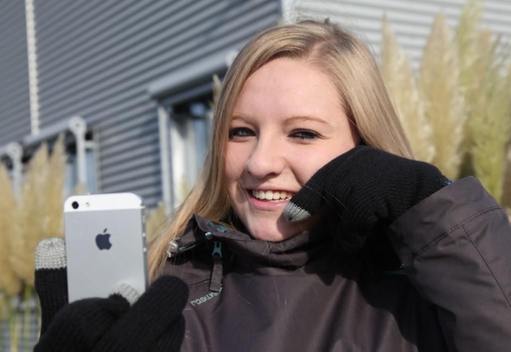 Einfach in den Handschuh quatschen, DAS Wintergadget 2012!