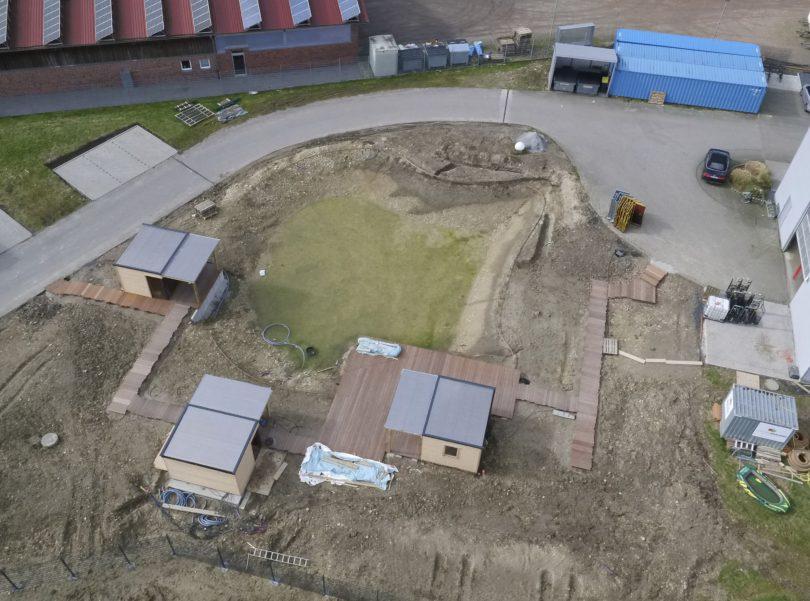 Garten Brauers aus Osnabrück baut den Arktis Beach