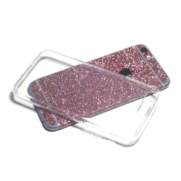 iPhone Glitzerfolie in Kombination mit dem Invisible Air Case