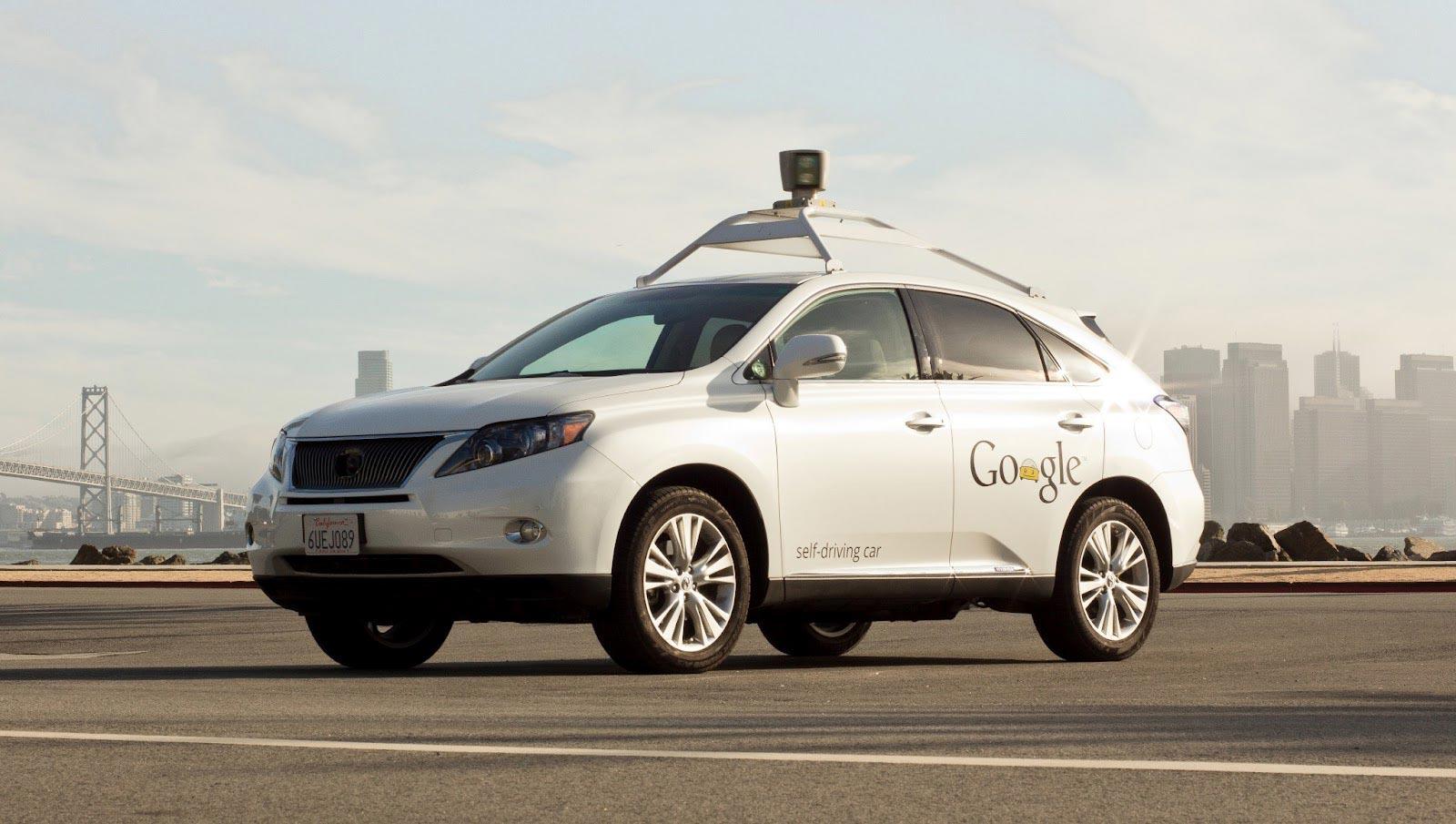 Das Auto der Zukunft? Zumindest die Vorlage für serienmäßige autonom gesteuerte Automobile.