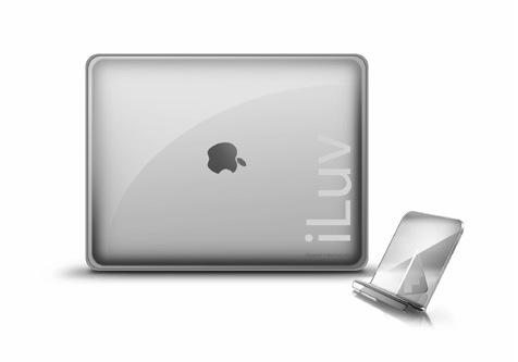 Praktischer iLuve Acrylständer für das iPad
