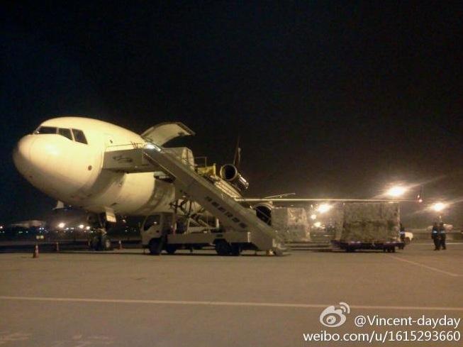 Ist dieses Flugzeug randvoll mit iPad 3 beladen?