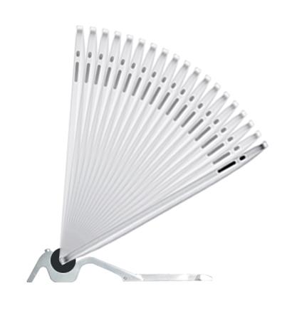 Cooler iPad Aluständer: Skadoosh flip stand
