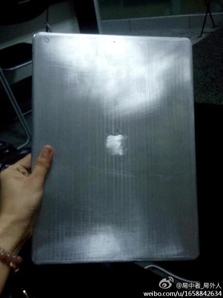 """Der im Internet aufgetauchte iPad Pro 12,9"""" Leak (Foto: weibo.com)"""