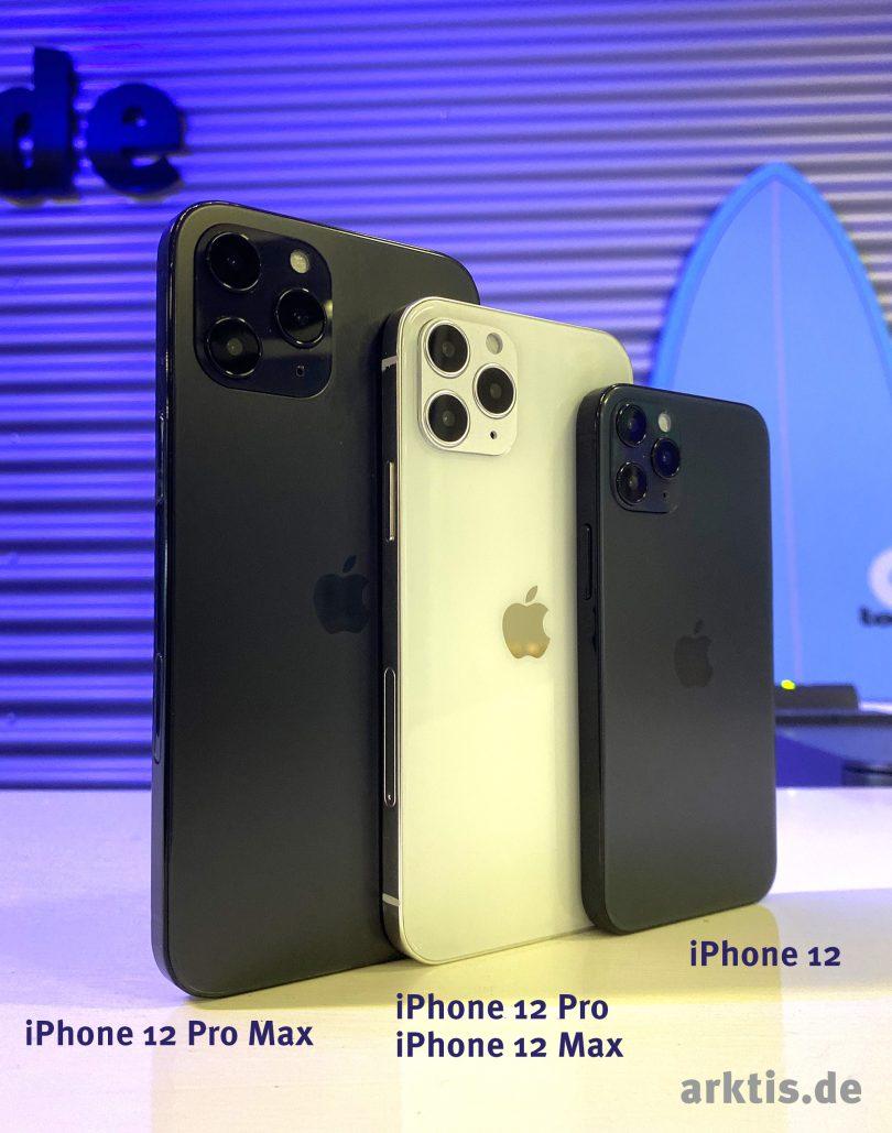 Die Dummies der iPhone 12 Modelle sind da!
