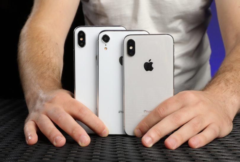 Die drei neuen iPhone Modelle