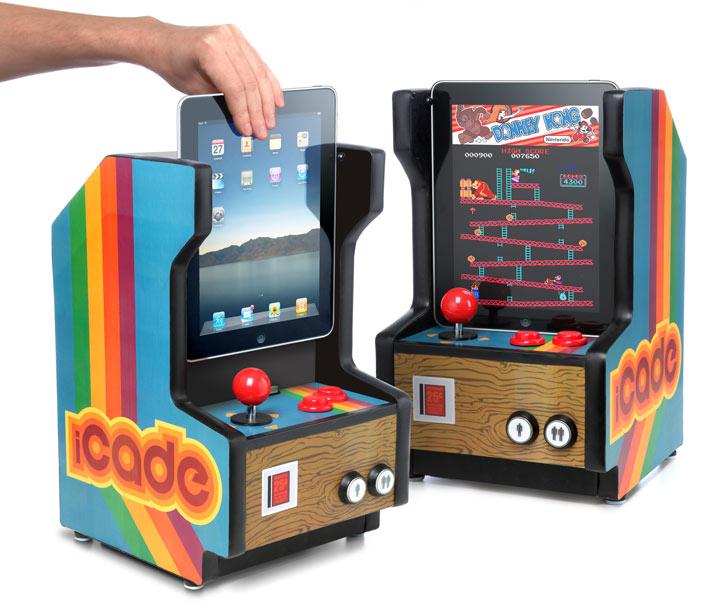iCade macht das iPad zum Spielhallen-Automaten.