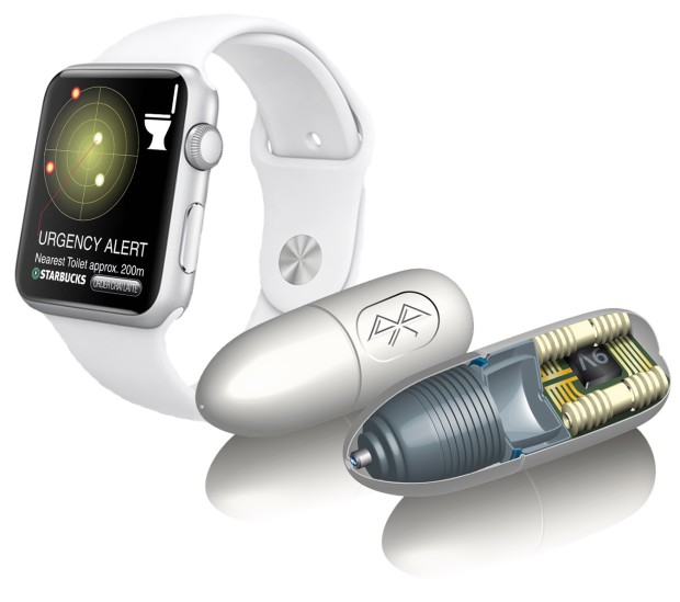 iCaps - die erste Bluetooth Pille für die Apple Watch
