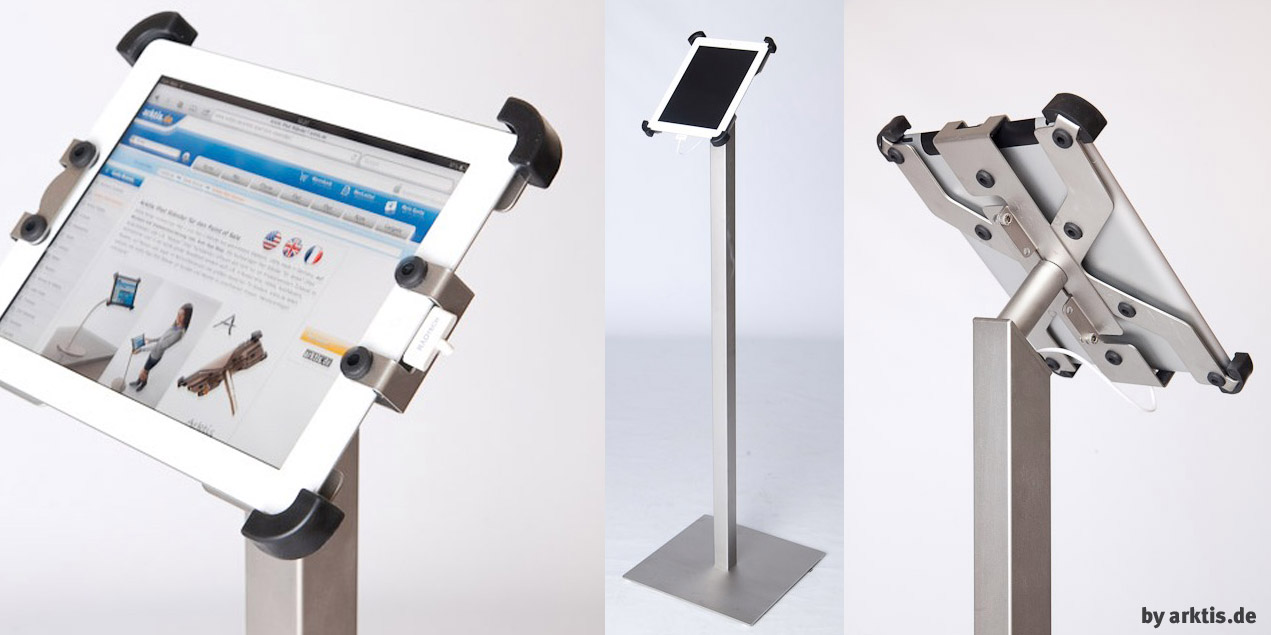 Neuer iPad 2 Boden Ständer von arktis.de