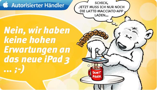 Das neue iPad 3 oder iPad HD ist im Anflug!