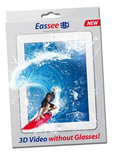 Der 3D Rahmen für das iPad ist da