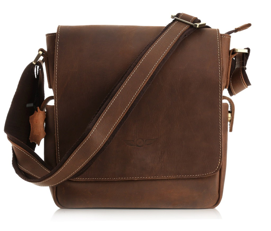 "Aviato ""BOSTON"" Ledertasche"