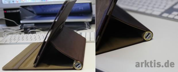 iPad Akku Case mit integriertem 6600 mAh Zusatzakku