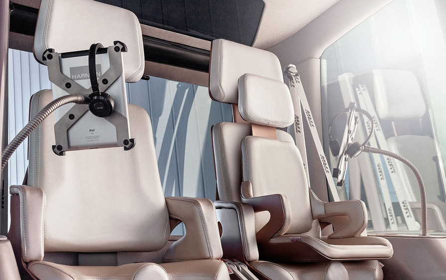 Sir James iPad Autohalterungen im neuen microMAX Futurecar