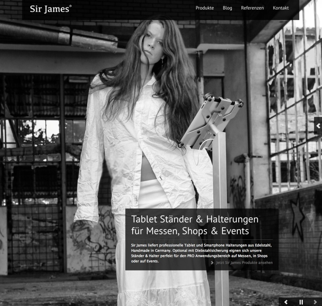 mysirjames.com - die Neue Sir James Markenseite ist online!