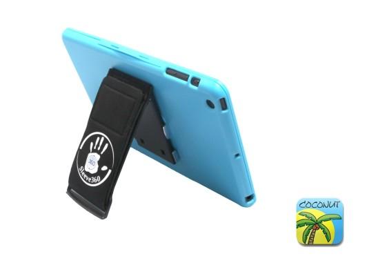 Coole iPad mini Hülle inkl. Ständer/Halteschlaufe von Coconut