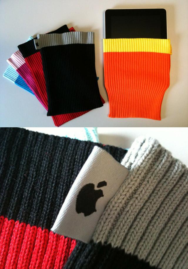 Plagiat: Die Appl iPad Socke