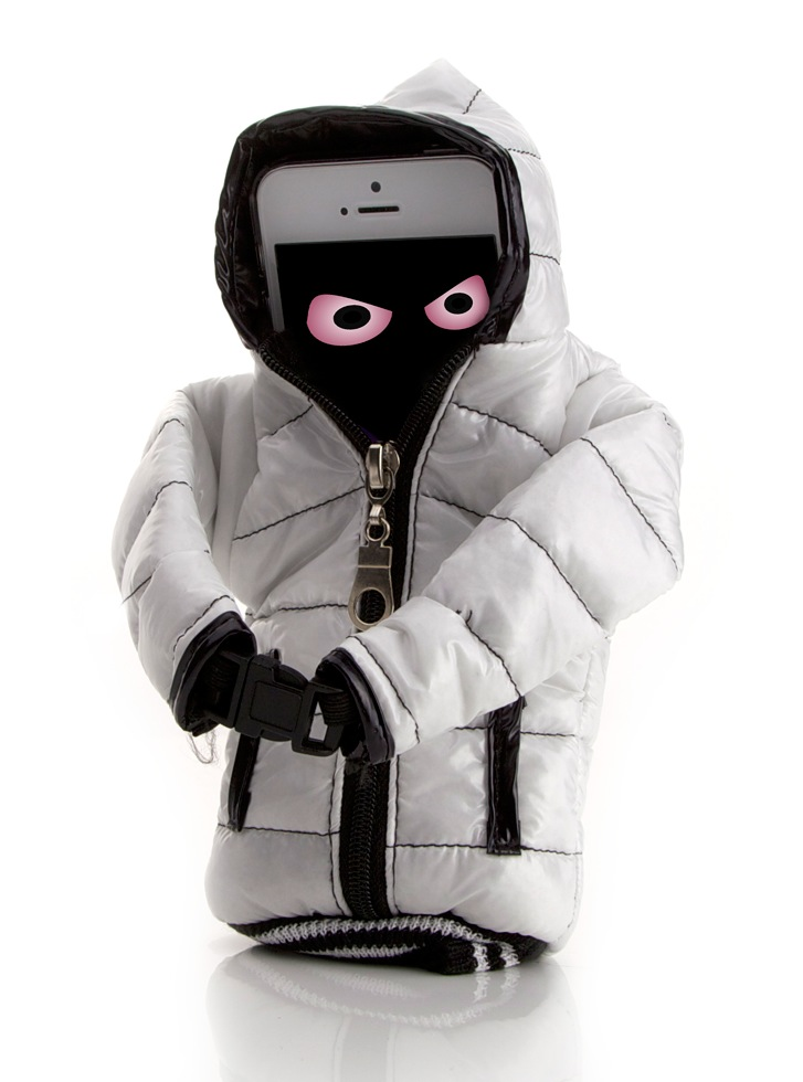 Coole Arktis iPhone Polarjacke
