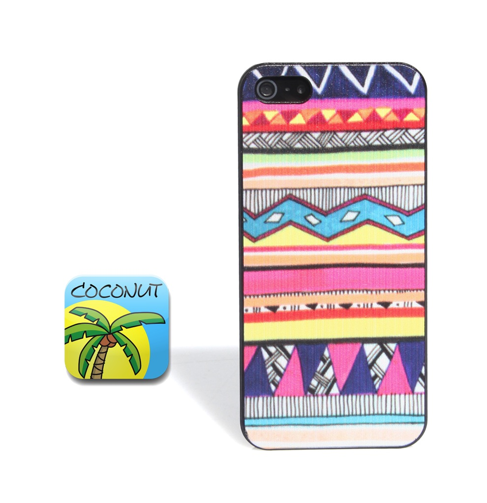 Coconut iPhone 5 Aztek Case
