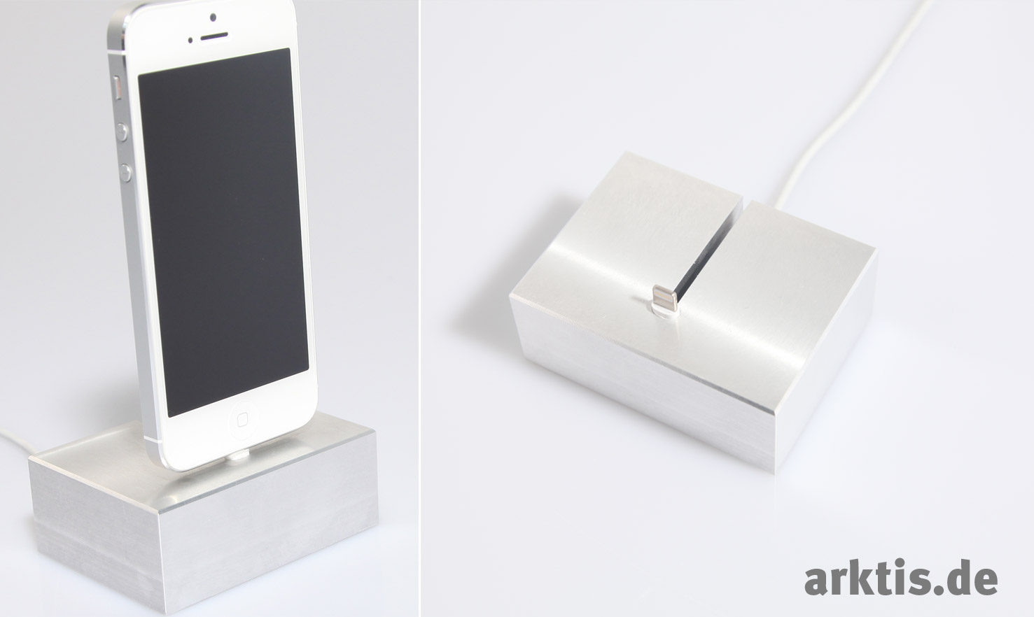 Exklusiv bei arktis.de: Das iPhone 5 Dock | arktis.de Blog