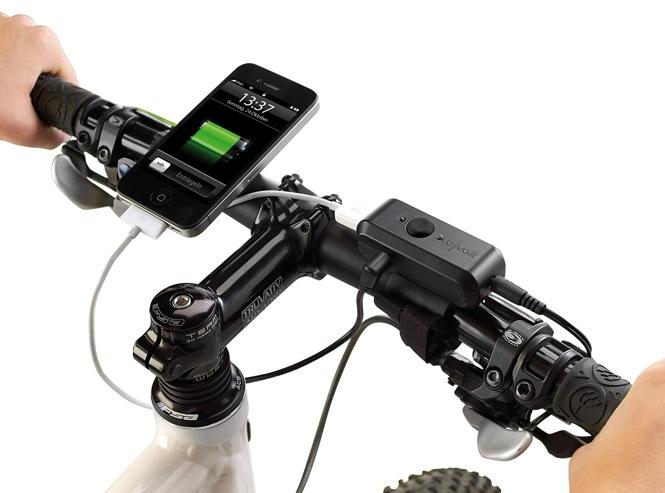 cooles gadget fahrrad dynamo l d den iphone akku arktis. Black Bedroom Furniture Sets. Home Design Ideas