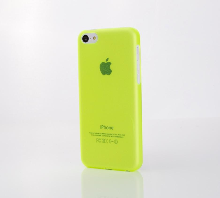 Sogar die Muster unserer iPhone 5C Hüllen passen beim Dummy