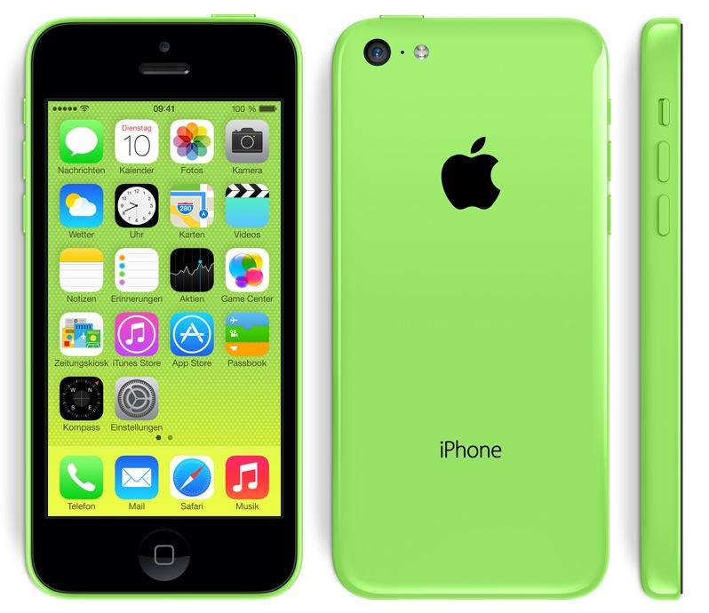 iPhone 5c Verkaufszahlen