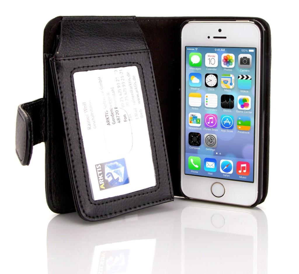 Da passt viel in die neue Mobiletto iPhone 5/5s Hülle